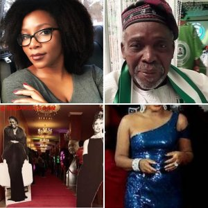 Nigerian Movie & TV Stars & Scenes