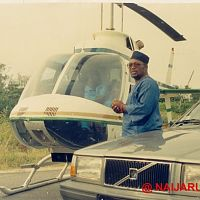 Yomi Obileye in the helicopter sequence from Hostages.