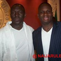 Sammie Okposo (left) and Paul Irabor