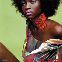 Supermodel Oluchi Onweagba, the former Face of Africa.