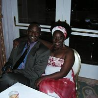 Joke Silva Jacobs and Chet