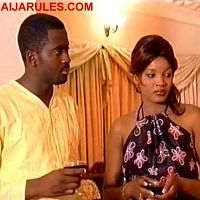 DESMOND ELLIOT and OMOTOLA JALADE EKEINDE in, 'A KISS FROM ROSE'.