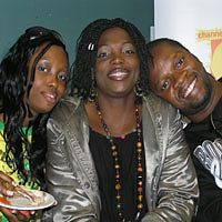 Arent they cool? BIg brother housemates(Francisca, sandy and Yinka)