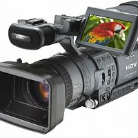 Sony's HDV format camcorder.