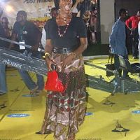 Spicy Mama, Funlola Aofiyebi On the yellow carpet