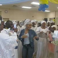 Ikore of the white garment church in Canada....