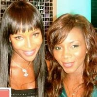 Genevieve Nnaji at Naomi Campbell Fashion for Relief Event London