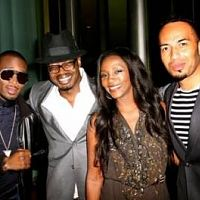 Photos from Genevieve Nnaji's 32nd Birthday Party with D'banji