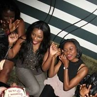 Photos from Genevieve Nnaji's 32nd Birthday Party with D'banj
