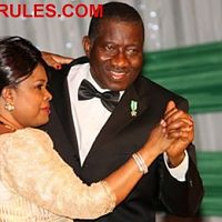 Presidential Dance ~ Ebele and Chinyere Jonathan on the floor