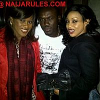 Rita and Uche chilling out
