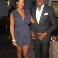 BS and Desmond Elliot and Kiss and Tell Premiere, London