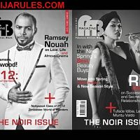 Ramsey and Rita  on the cover of FAB Magazine's 8th Issue